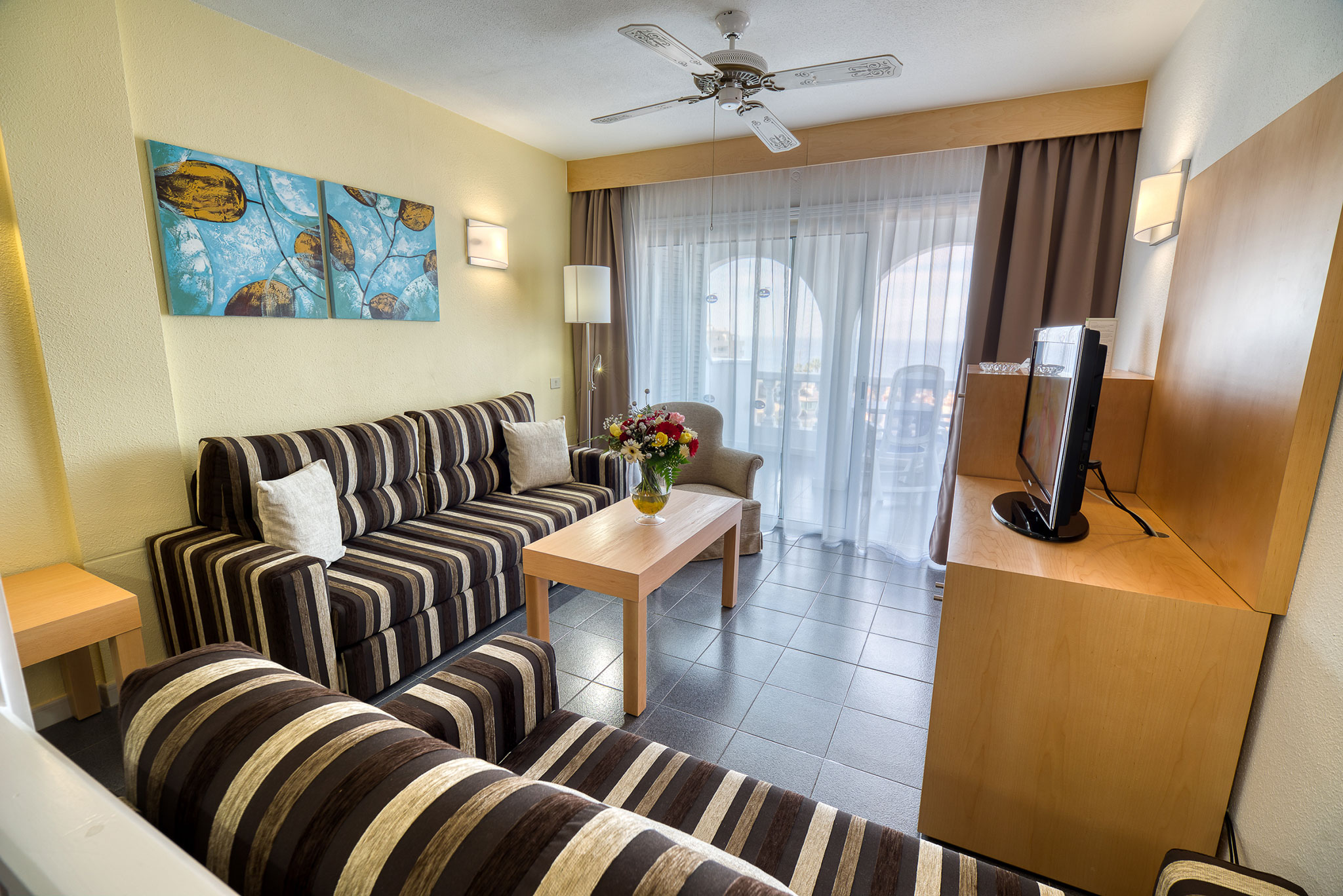 Hotel El Marques Living Room
